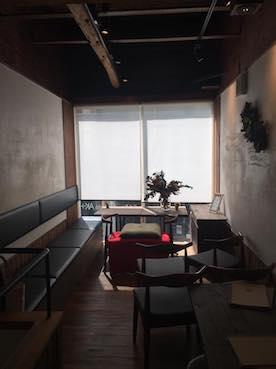 カフェで落語会