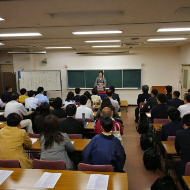 大田助っ人の会で講演