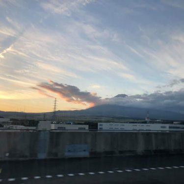 富士スピードウエイのキャンプ場で
